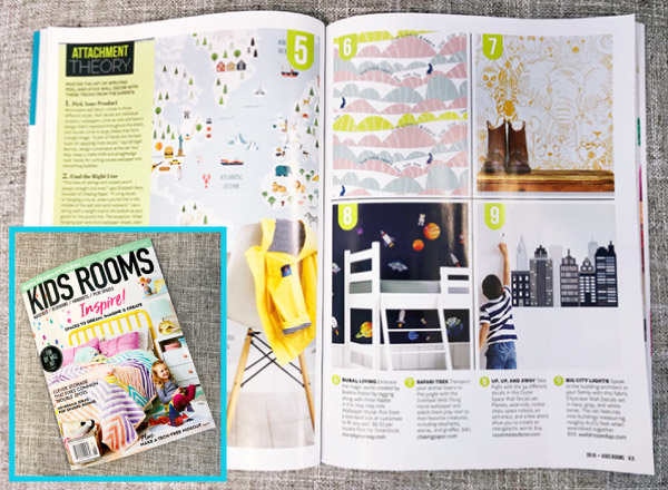 Murals Your Way in Better Homes & Gardens special interest publication