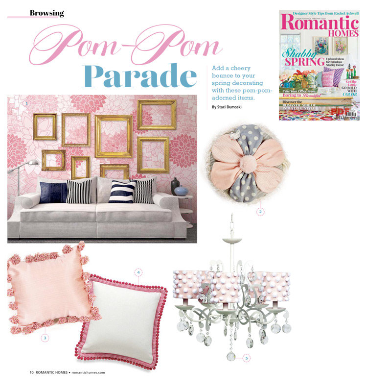 """Romantic Homes Magazine's """"Shabby Spring"""" - March 2016 issue"""