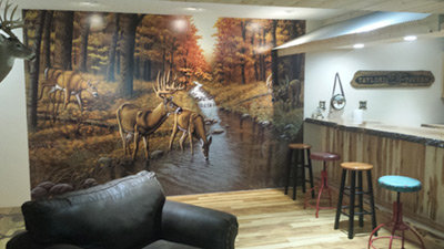 wild animal mural review