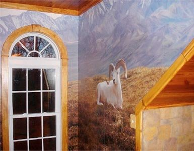 Custom Wildlife Wall Mural