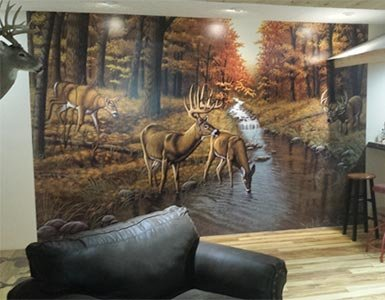 Wildlife Wallpaper in Bar
