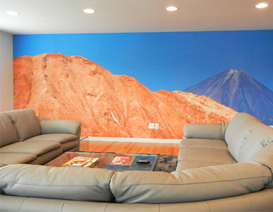 Custom Scenic Wallpaper Mural