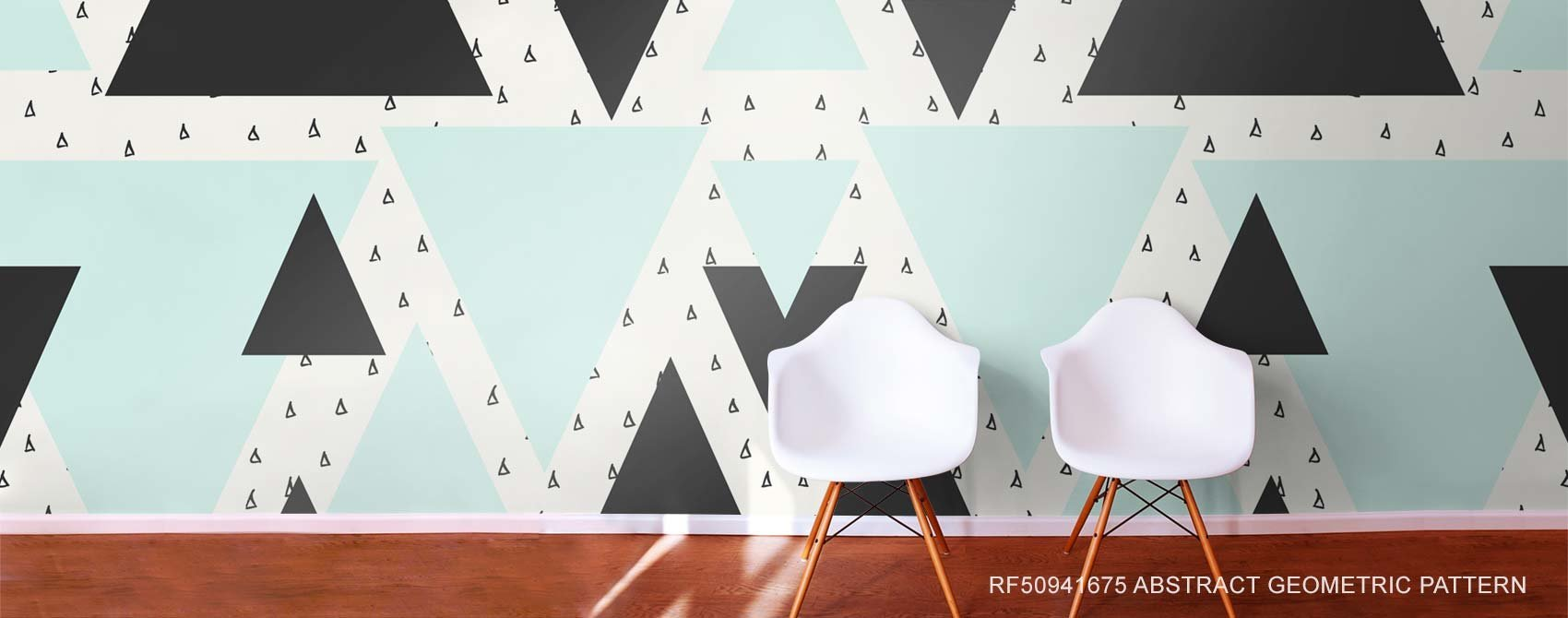 Abstract Geometric Pattern wallpaper mural