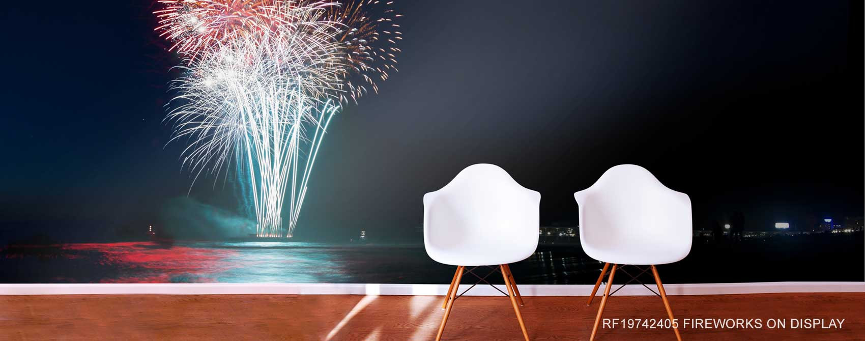 Fireworks On Display Wallpaper Mural