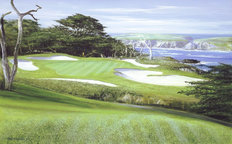 15th Hole At Cypress Point Wallpaper Mural