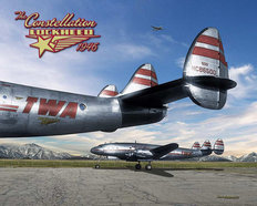 1946 Constellation Lockheed Wall Mural