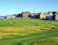 1st and 18th Holes, The Old Course at St. Andrews Links Wallpaper Mural