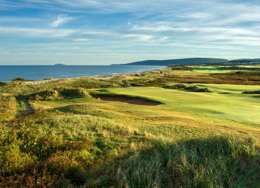 7th Hole, Cabot Links Wall Mural