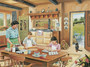 A Cottage Kitchen Wallpaper Mural