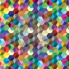 Color Cubes Wallpaper
