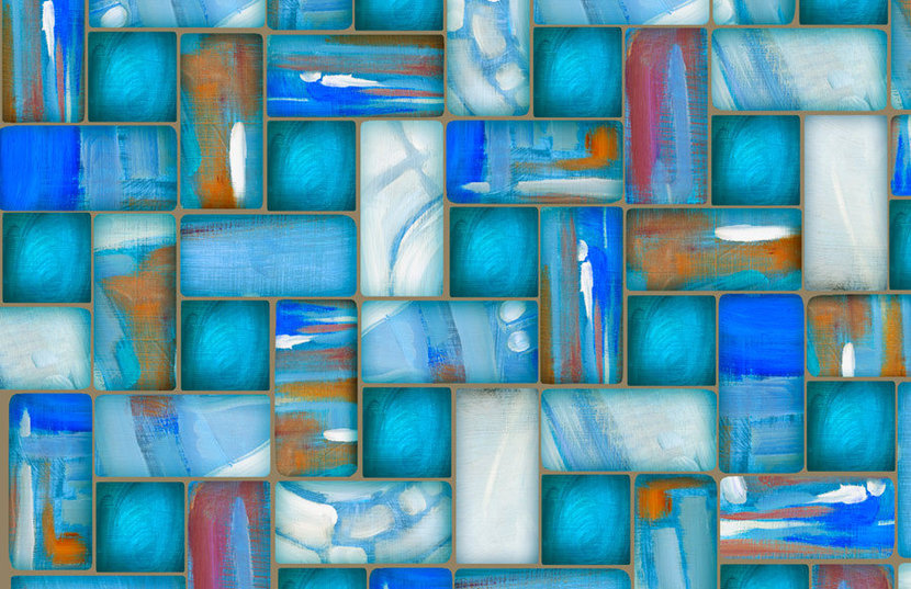 Abstract Blue 2 Wallpaper