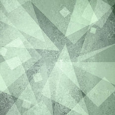 Abstract Blue Triangle Background Wall Mural