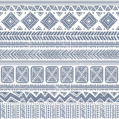 Abstract Tribal Pattern Wallpaper