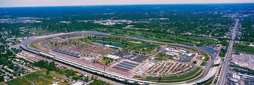 Aerial View Of Indianapolis Motor Speedway Wall Mural