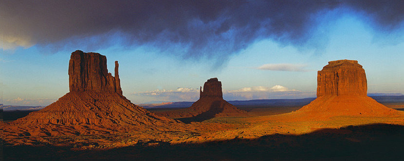 After The Storm In Monument Valley Wallpaper Mural