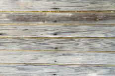 Aged Boards From An Old Warehouse Wallpaper Mural