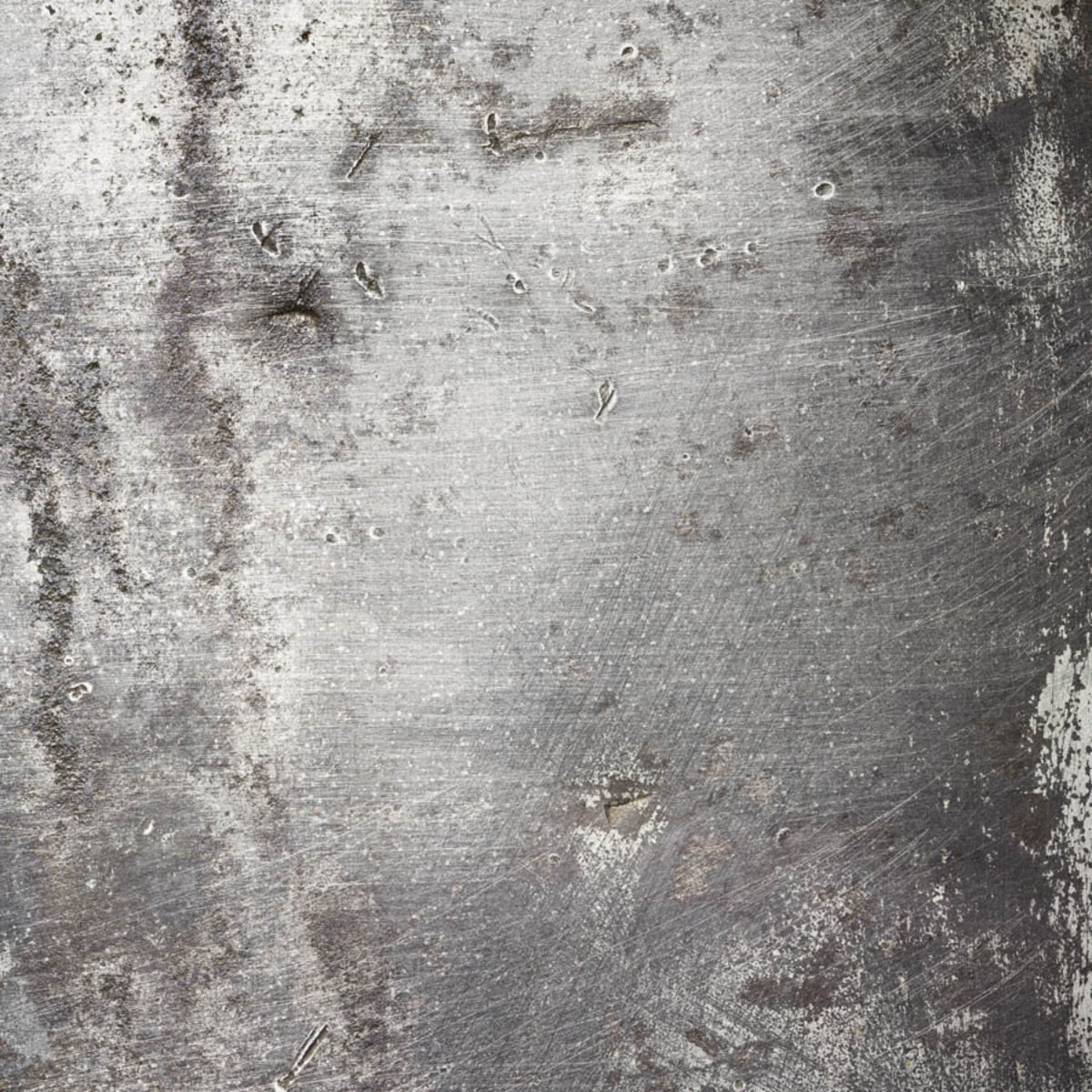 Aged Metal Texture Mural Wallpaper