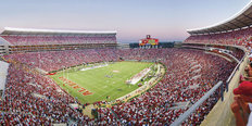 Alabama Vs. Southern Mississippi Football Wall Mural