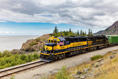 Alaska Railroad 2 Wall Mural