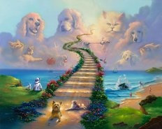 All Pets Go To Heaven Wall Mural