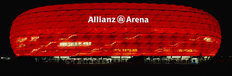 Allianz Arena In Munich At Night