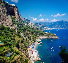 The Amalfi Coast Mural Wallpaper