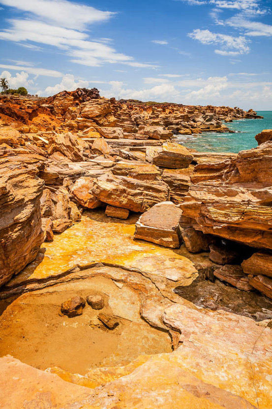 Landscape in Broome, Australia Wallpaper Mural
