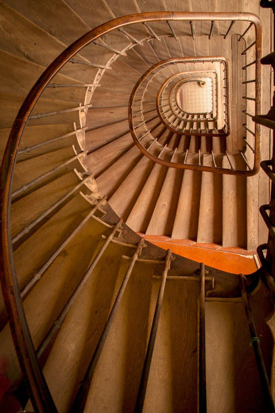 Ancient Staircase Mural Wallpaper