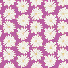 Anna Elise - Daisies Lilac Scent Wallpaper