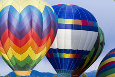 Hot Air Balloon Festival 2 Wallpaper Mural
