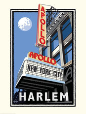 Apollo Theater NYC Mural Wallpaper