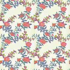 Arklow Floral Pattern Mural Wallpaper