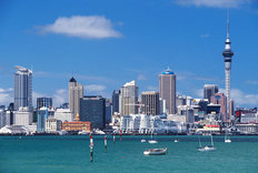 Auckland City & Harbour Wallpaper Mural
