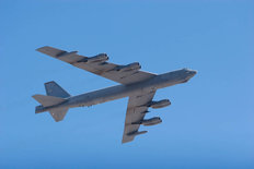 B-52 Heavy Bomber Jet Airplane Wallpaper Mural