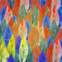 Background Of colorful Feathers