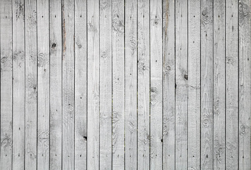 rustic background of white wood panel boards