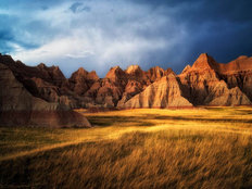 Badlands National Park Wall Mural