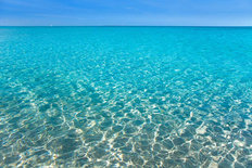 Turquoise Water Ripples Wallpaper Mural