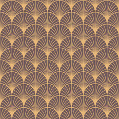Beardsley Pattern Mural Wallpaper