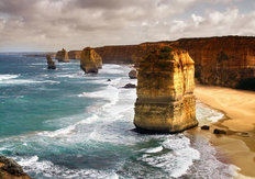 Beautiful Twelve Apostles Mural Wallpaper