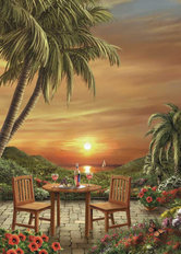 Beautiful As The Sunset Wall Mural