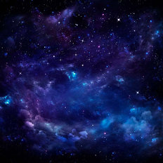 Beautiful Starry Sky Mural Wallpaper
