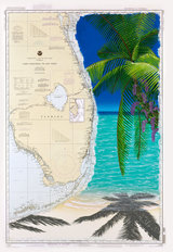 Beauty on the Florida Beach Mural Wallpaper