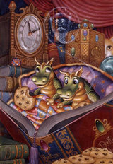 Bedtime Stories Mural Wallpaper