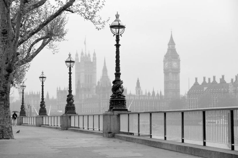 Big Ben And The Houses of Parliament Mural Wallpaper