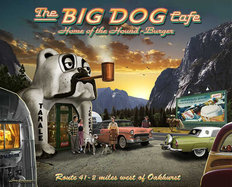 Big Dog Cafe Wall Mural