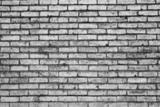 Black And White Brick Wallpaper Mural