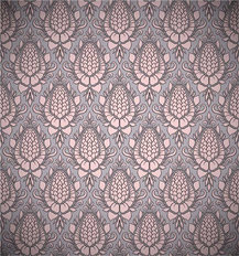 Blossom Damask Wallpaper