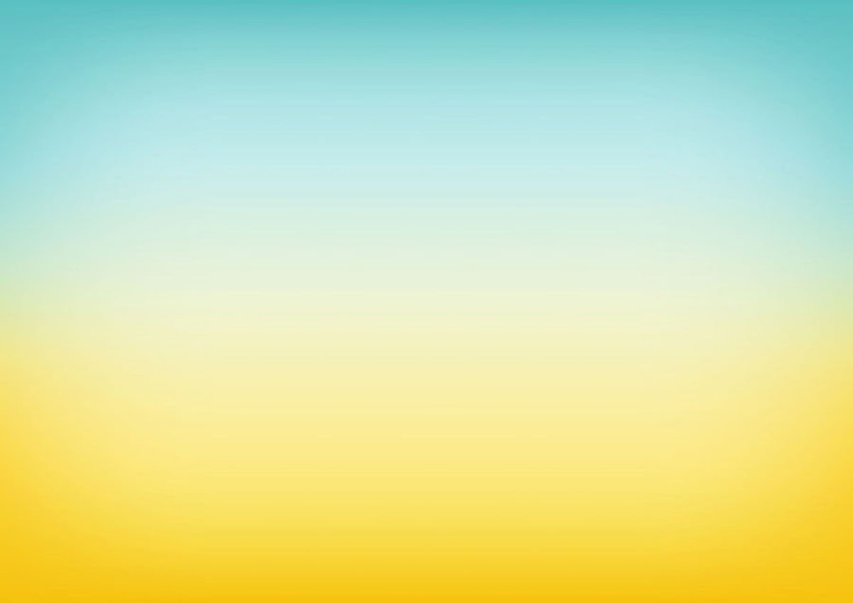 Blue And Yellow Ombre