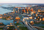 Boston Afternoon Mural Wallpaper